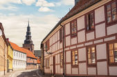 Ystad street scene — Stock Photo