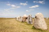 Ales stenar w Szwecji — Zdjęcie stockowe