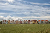 Jakriborg From Wheat Field — Stock Photo