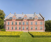 Palsjo Slott Back Facade and Garden — Stock Photo