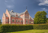 Palsjo Slott From Front Garden — Stock Photo