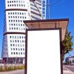 Bus stop at turning torso 01 — Stock Photo #6310044
