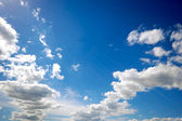 Clouds and sky — Stock Photo
