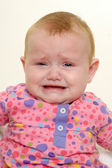 Sad crying baby — Stock Photo