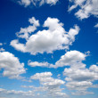 Royalty-Free Stock Photo: Cumulus clouds and blue sky