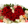 Flowers heart shape — Stock Photo #13203963