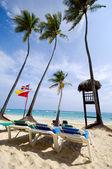Beach at Saona Island, Dominican Republic — Stock Photo