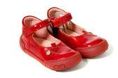 Par de sapatos vermelhos — Foto Stock