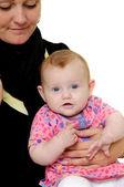 女性と赤ちゃん — ストック写真