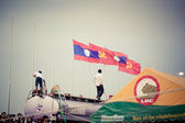 Songkran in Laos — Stock Photo