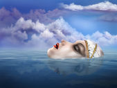 Lady of the Lake — Stock Photo