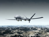Unmanned Combat Air Vehicle — Stockfoto