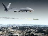 борьбе с дрон — Стоковое фото