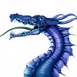 Blue Dragon - Foto Stock