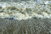 Turbulente zee — Stockfoto
