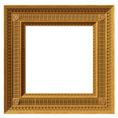 Square neoclassical frame — Stock Photo