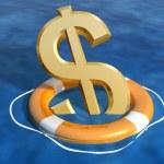 Saving the dollar — Stock Photo #2239350