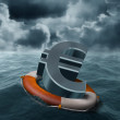 Euro rescue — Stock Photo