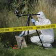 Stock Photo: Crime Scene Examination
