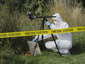 Crime Scene Examination — Stock Photo