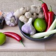 Thai ingredients — Stock Photo