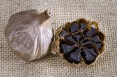 Black garlic — Stock Photo