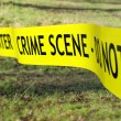 Crime Scene Cordon — Stock Photo #41419073