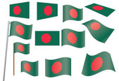 Flag of Bangladesh — Stock Vector