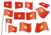 Flagof Vietnam — Stock Vector