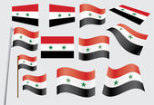 Flag of Syria — Stock Vector