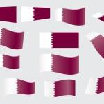 Постер, плакат: Flag of Qatar