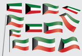 Flag of Kuwait — Stock Vector