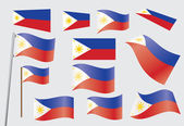 Flag of Philippines — Stock Vector