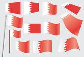 Flag of Bahrain — Stock Vector