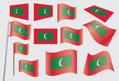 Flag of Maldives — Stock Vector