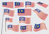 Flag of Malaysia — Stock Vector