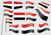 Flag of Yemen — Stock Vector