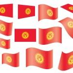 Постер, плакат: Flag of Kyrgyzstan