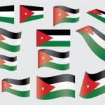 Flag of Jordan — Stock Vector