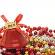 Merry Christmas bell — Stock Photo