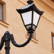 Retro street lamp - Stock Photo