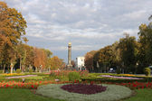Monument of Glory in Poltava — Stock Photo