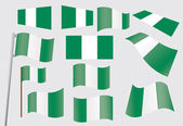 Flag of Nigeria — Stock Vector