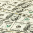 Stock Photo: One hundred dollars banknotes