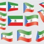 Постер, плакат: Flag of Equatorial Guinea