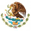 Stock Vector: Coat of arms of Mexico
