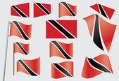 Flag of Trinidad and Tobago — Stock Vector