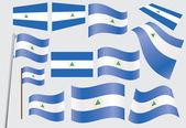 Flag of Nicaragua — Stock Vector