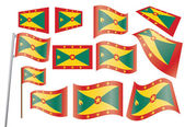 Flag of Grenada — Stock Vector