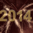 New Year 2014 background — ストック写真